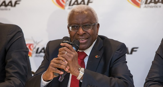 Lamine Diack on athletics doping scandal