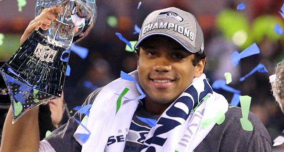 Russell Wilson contract extension earned