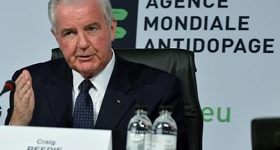 WADA President Reedie on athletics doping scandal