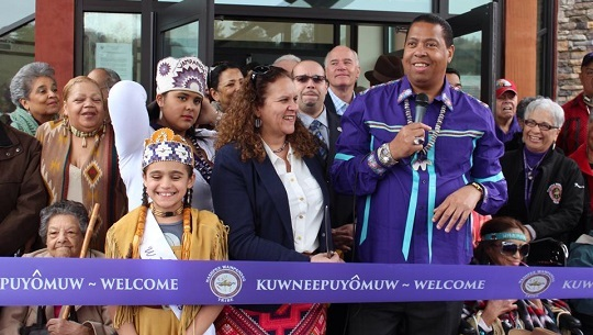 mashpee Wampanoag tribal casino resort opening
