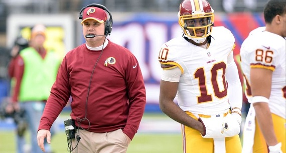RG3 trade from Redskins?