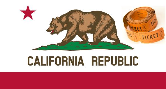 California state high-stake raffles