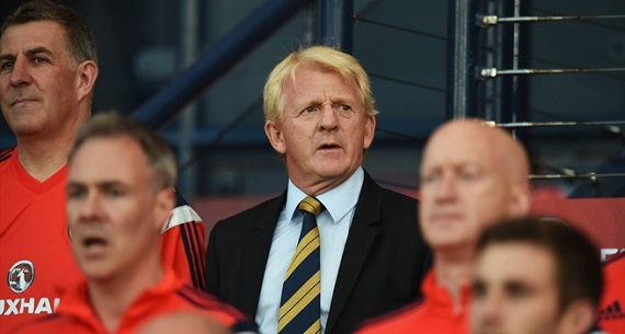 Scotland v Germany 2-3 Gordon Strachan bench