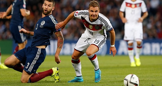 Scotland v Germany 2-3 Mario Gotze