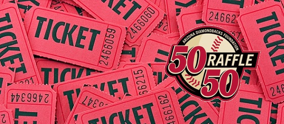 Arizona Diamondbacks high-stakes raffles