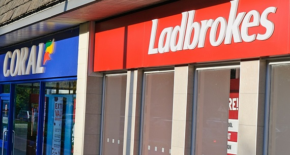 Ladbrokes Coral merger high street betting shops