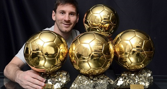 Odds to bet on Ballon d'Or