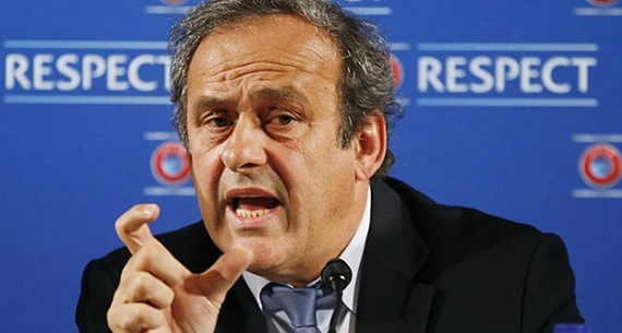 Platini suspended from FIF vice presidency