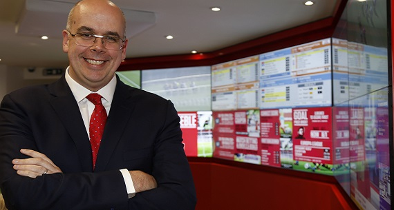 Ladbrokes Coral merger Jim Mullen CEO