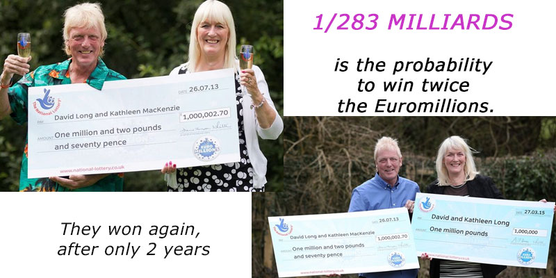 UK Couple Wins Second GBP 1 Million EuroMillions Jackpot in Two Years