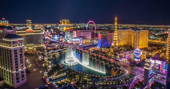 dropping gambling revenues in las vegas
