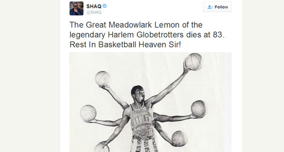 meadowlark lemon dies