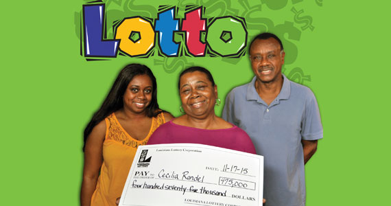 Louisiana lotto winner