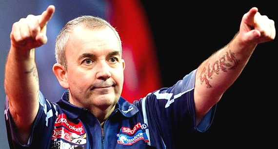 phil taylor our of competition