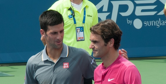 Djokovic v Federer semi at Australian Open