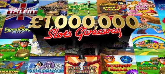 Biggest Slots Giveaway