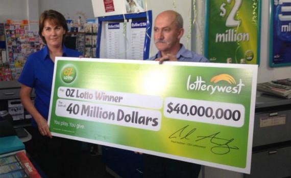Australian lotto jackpot won by working class family