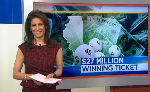 $27 million winning lottery jackpot ticket