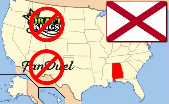 DFS in Alabama illegal gambling