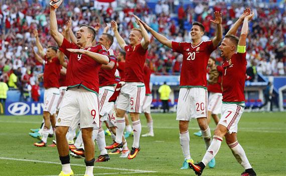Hungary at Euro 2016